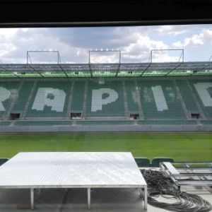 Rapid Wien Bauarbeiten Allianz-Stadion