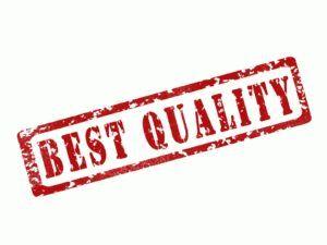 Zuverlässigkeit und Qualität - Best Quality